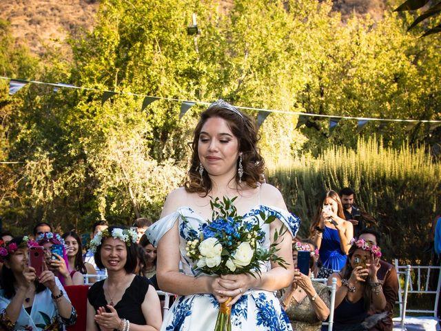 El matrimonio de Cheng y Tulssi en Pirque, Cordillera 4