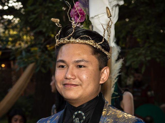 El matrimonio de Cheng y Tulssi en Pirque, Cordillera 5