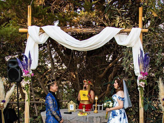 El matrimonio de Cheng y Tulssi en Pirque, Cordillera 6