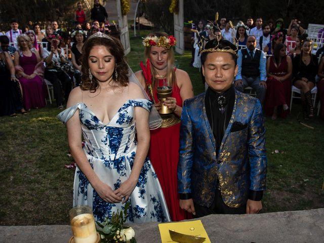 El matrimonio de Cheng y Tulssi en Pirque, Cordillera 8