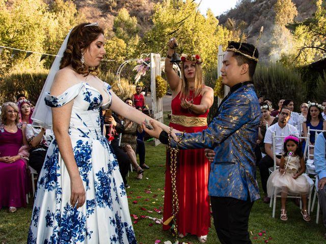 El matrimonio de Cheng y Tulssi en Pirque, Cordillera 10