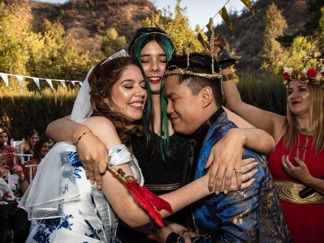 El matrimonio de Cheng y Tulssi en Pirque, Cordillera 12