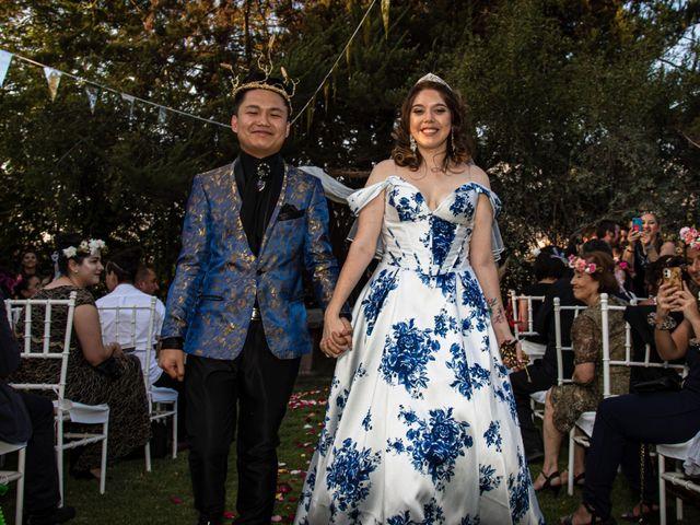 El matrimonio de Cheng y Tulssi en Pirque, Cordillera 13