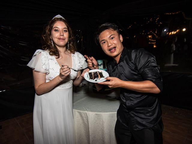 El matrimonio de Cheng y Tulssi en Pirque, Cordillera 19