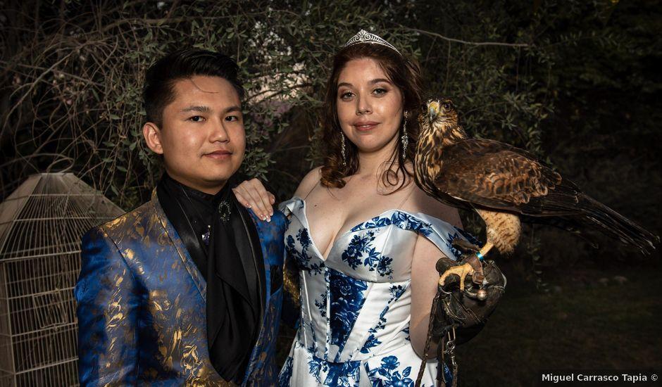 El matrimonio de Cheng y Tulssi en Pirque, Cordillera