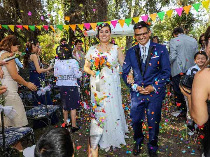 El matrimonio de Paulina y Javier