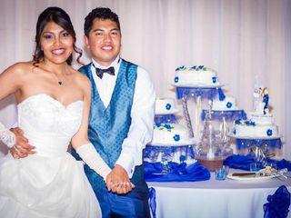 El matrimonio de Ximena y David