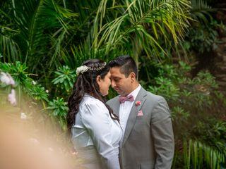 El matrimonio de Naty y Edgar