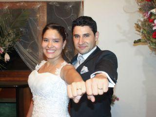 El matrimonio de María Paz y Javier