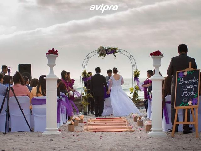 El matrimonio de Angely  y Eduardo