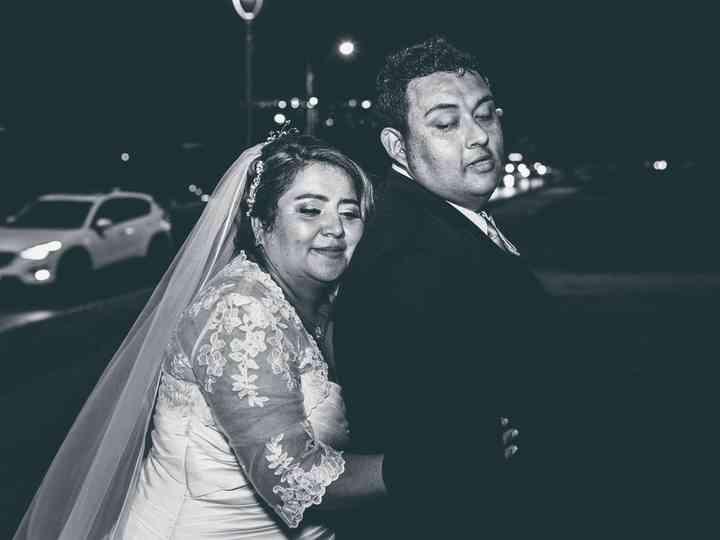 El matrimonio de Sandra y Walter