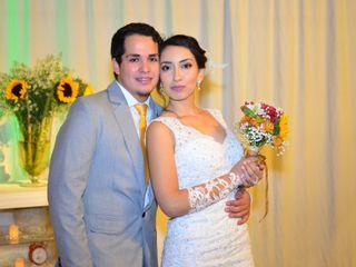 El matrimonio de Joyce y Andrés