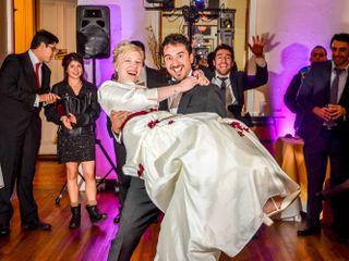 El matrimonio de Madline y Luis