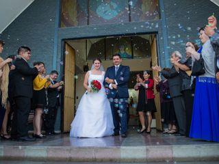 El matrimonio de Claudia y Miguel
