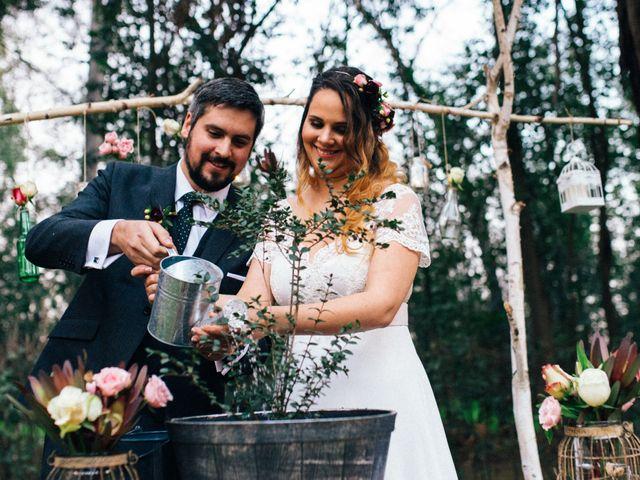 El matrimonio de Naty y Pablo