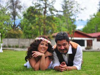 El matrimonio de Vanessa y Daniel