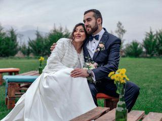 El matrimonio de Solange  y Francisco