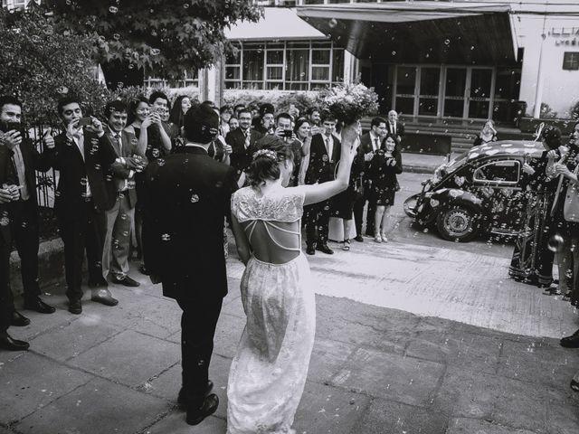 El matrimonio de Antonia y Carlos