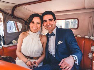 El matrimonio de Solange y Erick