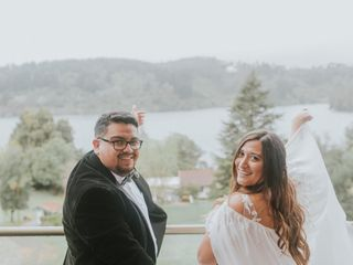El matrimonio de Eleazar y Camila