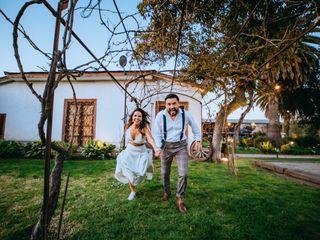 El matrimonio de Paulina y Cristian