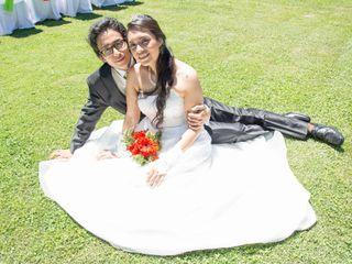 El matrimonio de Pamela y Antonio