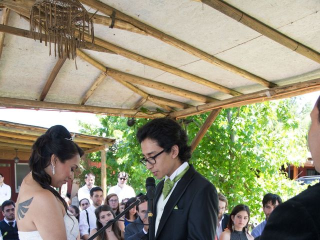 El matrimonio de Antonio y Pamela en La Pintana, Santiago 5