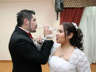 El matrimonio de Karina y Cristian