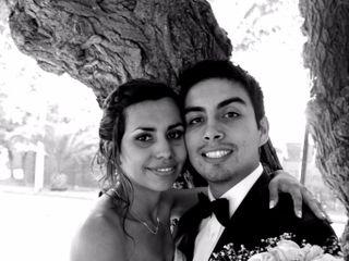 El matrimonio de Daniela y Óscar