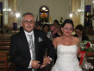 El matrimonio de Ximena y Juan