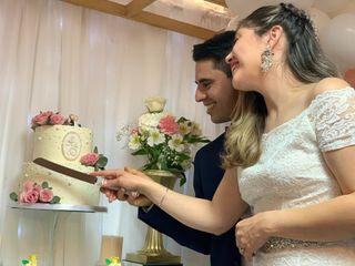 El matrimonio de Abigail  y Diego