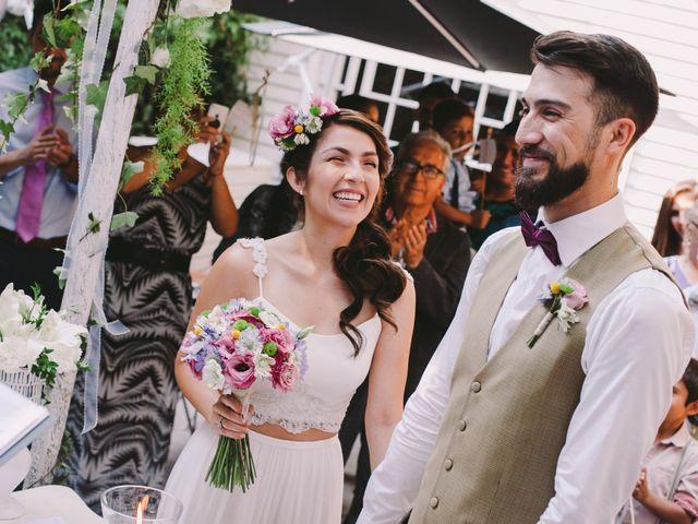 El matrimonio de Nicoletta y Gonzalo