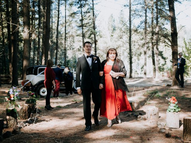 El matrimonio de Katerine y Antonio en Hualqui, Concepción 2