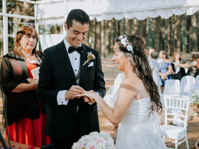 El matrimonio de Katerine y Antonio en Hualqui, Concepción 12
