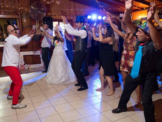 El matrimonio de Katerine y Antonio en Hualqui, Concepción 104