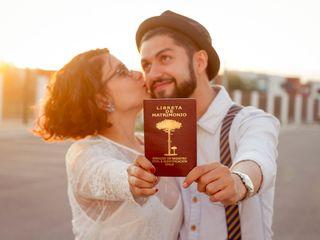 El matrimonio de Marisela y Gustavo