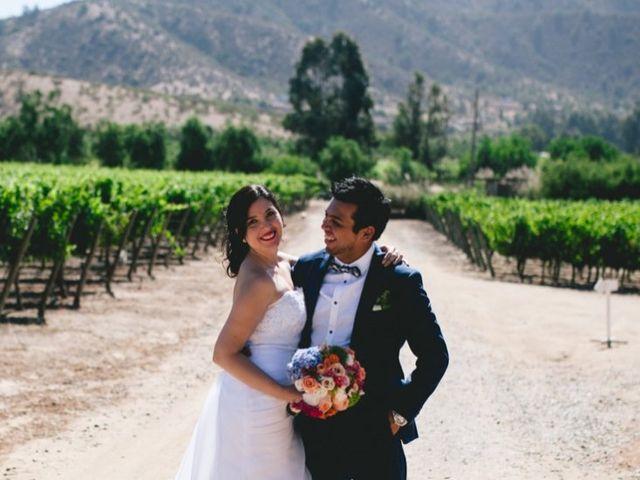 El matrimonio de Pía y Adrián