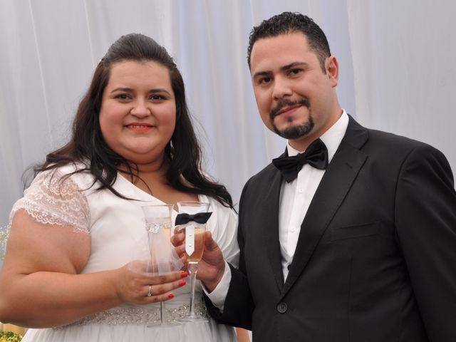 El matrimonio de Solange Molina y Ángel Quilodrán