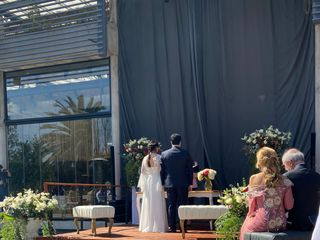 El matrimonio de Carol y Tomas 1