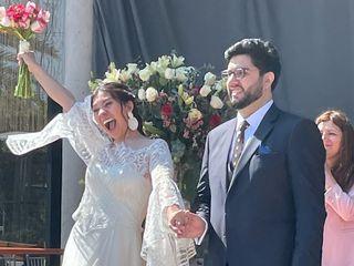 El matrimonio de Carol y Tomas 2