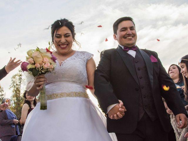 El matrimonio de Maylink y Osvaldo