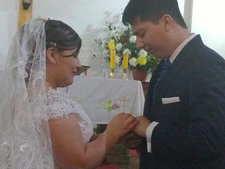 El matrimonio de Raquel y Cristian