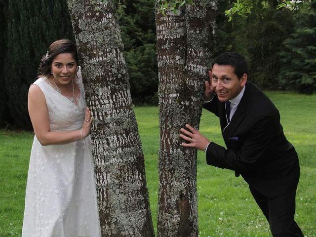 El matrimonio de Marcela Silva  y Gastón