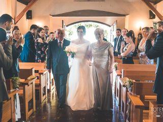 El matrimonio de Daniela  y Rafael 3