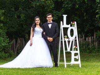 El matrimonio de Angélica y George