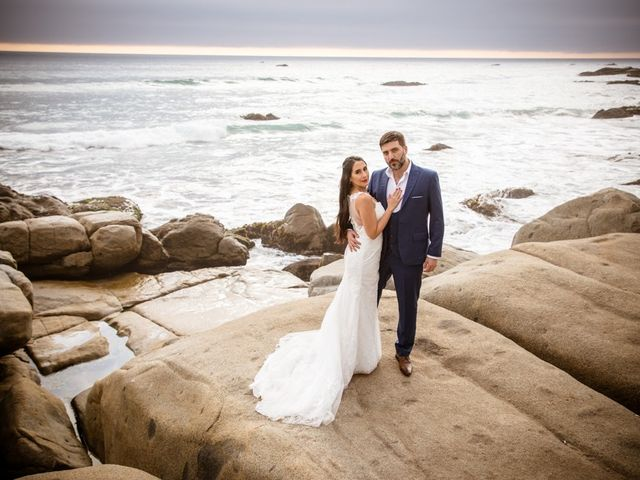 El matrimonio de Peggy y Daniel