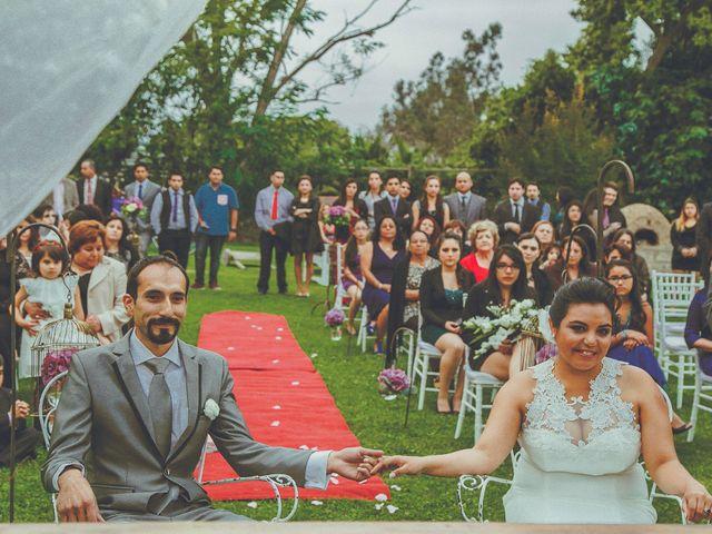 El matrimonio de Kathy y Héctor