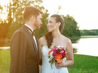 El matrimonio de Pamela y Johan  1