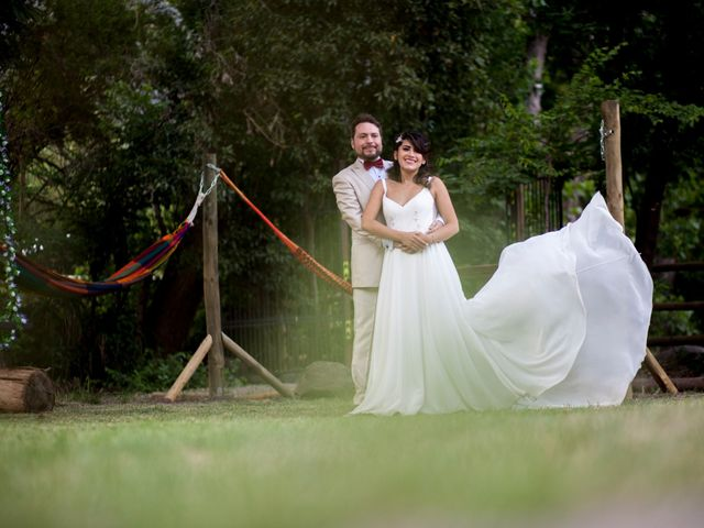 El matrimonio de Alika y Matías