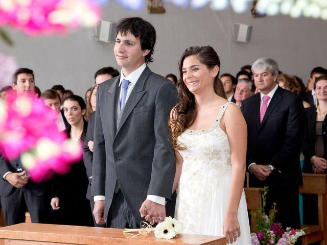El matrimonio de Alejandra y Tomás